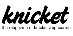 The magazine of knicket app search logo