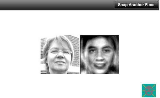 Antiface App Screenshot