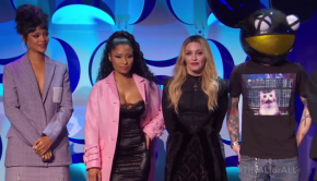 Screenshot Tidal Press Conference