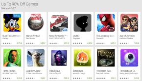 Google Play Game Sale